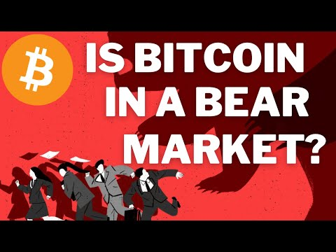 IS BITCOIN IN A BEAR MARKET? - BTC PRICE PREDICTION - SHOULD I BUY BTC - BITCOIN FORECAST 200K BTC