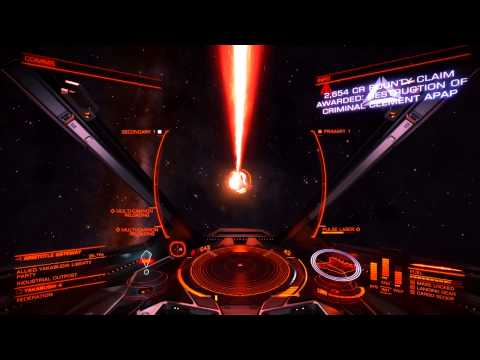 MADACE404 - Elite Dangerous - Intercepted The Wrong Ship