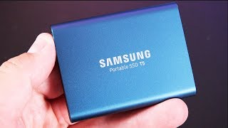 Samsung T5 Portable SSD:  Review