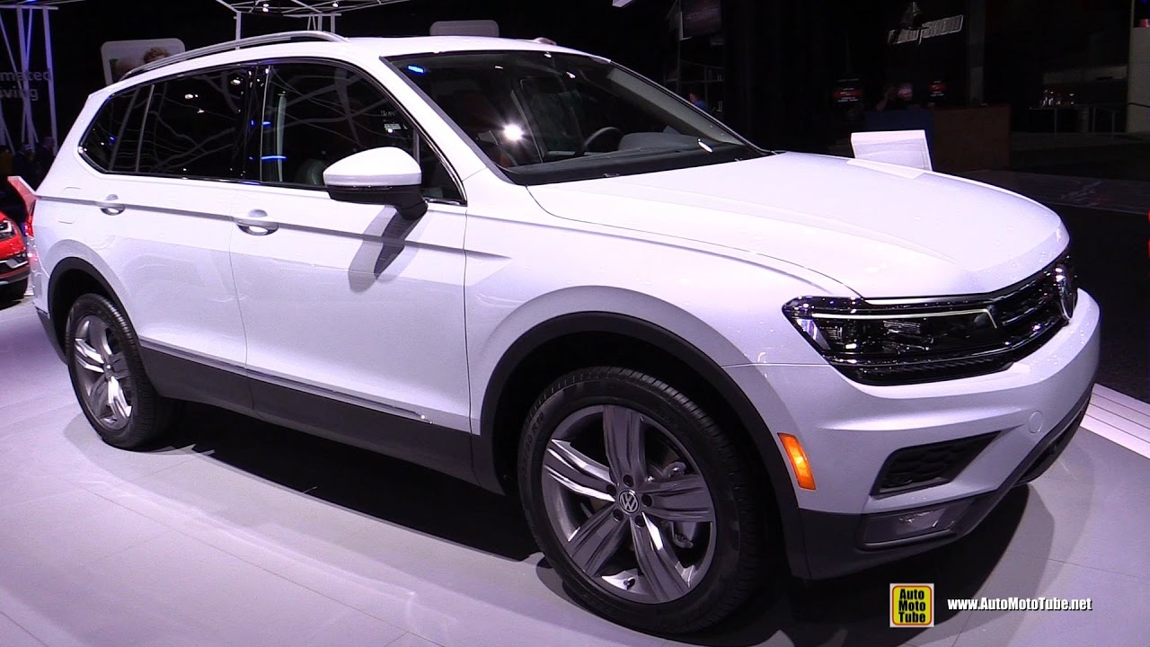 2018 volkswagen tiguan allspace sel exterior and. Black Bedroom Furniture Sets. Home Design Ideas