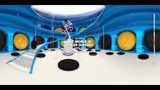 Discover the 360° world that inspired Filled Cupcake Flavored Oreo Cookies thumbnail