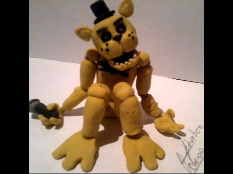 How to make golden freddy five nights at freddy 180 s youtube