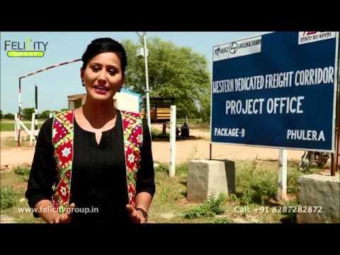 Why along DMIC in Rajasthan-Jaipur
