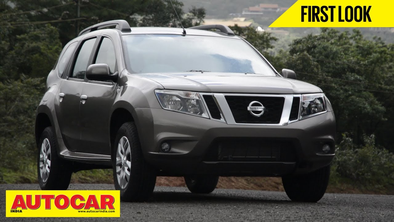 2013 Nissan Terrano Compact Suv First Look Video