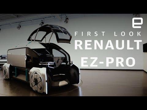 First look at EZ-PRO, Renault's autonomous delivery EV