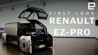 First look at EZ-PRO, Renault's autonomous delivery EV