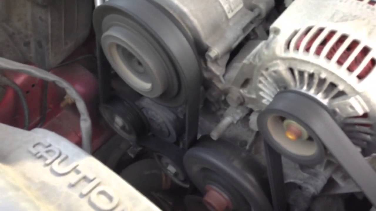 2006 Jeep Liberty Noise Coming From Alternator Ac
