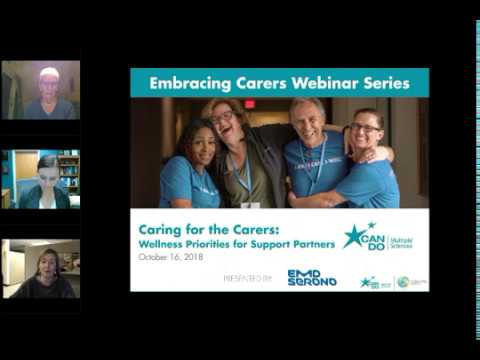 Embracing Carers Series: Caring for the Carer - Wellness Priorities for Support Partners