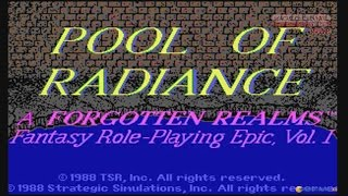 Pool of Radiance (PC, 1988) - Video Game Years History