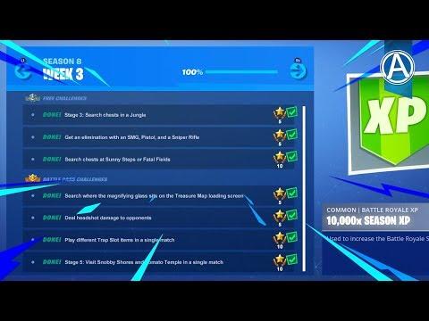 NEW Fortnite WEEK 3 CHALLENGES! // 1950+ Wins // Use Code: byArteer (Fortnite Battle Royale LIVE) thumbnail