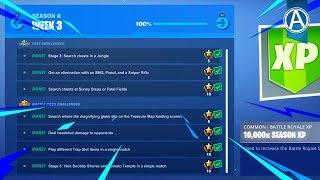 NEW Fortnite WEEK 3 CHALLENGES! // 1950+ Wins // Use Code: byArteer (Fortnite Battle Royale LIVE)