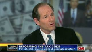CNN Official Interview: Eliot Spitzer to Grover Norquist