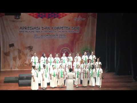 SMPN 19 Jakarta in Lomba Diknas Oct 2015