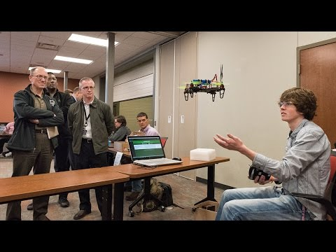 University of Mary Engineering Students Present Projects to Area Engineers