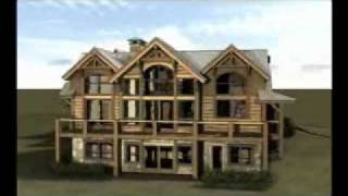 The Stillwater: Custom Hybrid Timber Frame Home Plan In Colorado By Gravitas