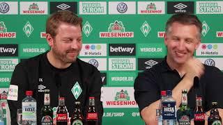 Werder Bremen Pressekonferenz [Komplett] 11. April - Werder Bremen - SC Freiburg