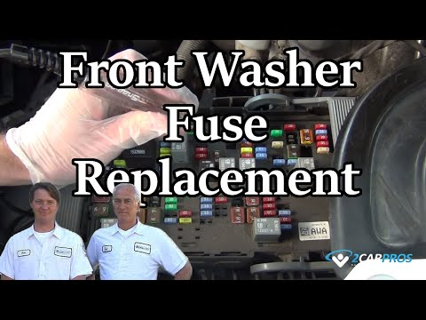 Front Washer Fuse Replacement