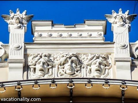 Latvia Riga. Art Nouveau or Jugendstil. Part 18