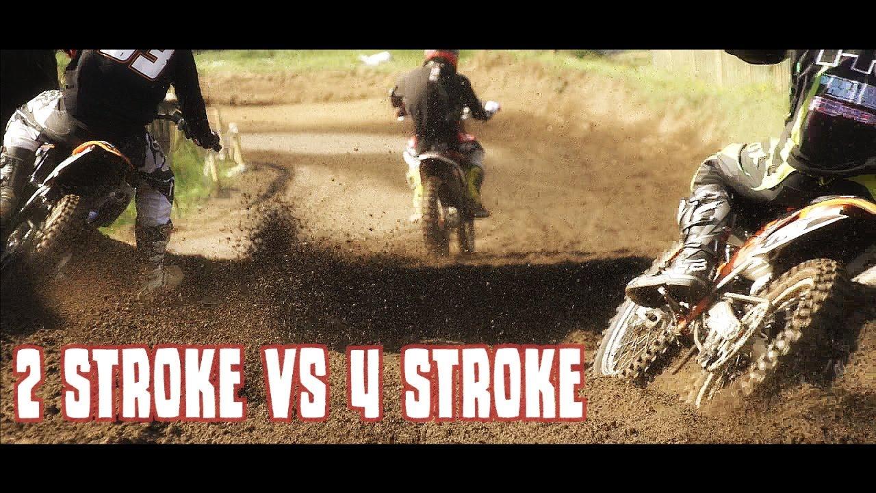 Motocross- 2 Strokes Vs 4 Strokes: The Ultimate Showdown