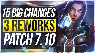 EVELYNN REWORK INC & HEIMER - 15 BIG CHANGES & NEW OP CHAMPS | Patch 7.10 - League of Legends thumbnail