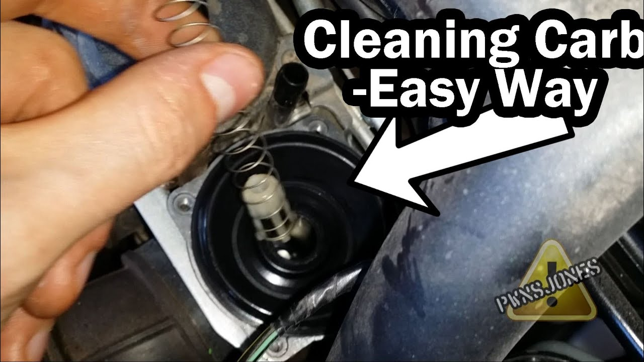 Sputtering  Dirty Carburetor Fix  Easy Way  Ninja 250
