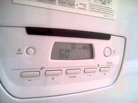 saunier duval thema condens f25 funcionamiento intermitente del quemador en acs youtube. Black Bedroom Furniture Sets. Home Design Ideas