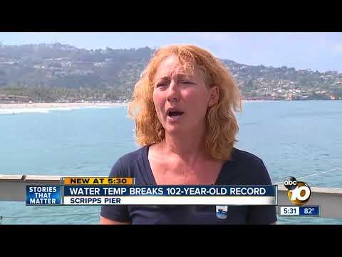 Water Temp Breaks 102-year-record