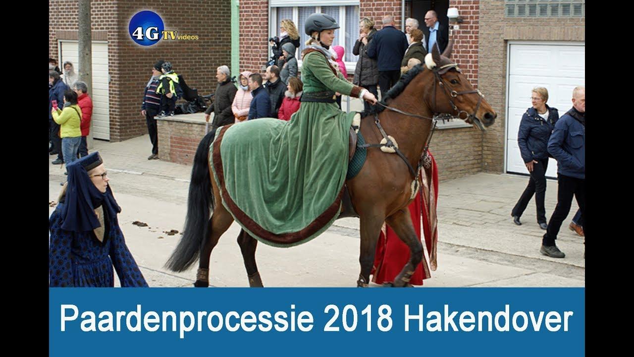 """Download VIDEO: """"Paardenprocessie 2018"""" Hakendover (42m Gilbert G)"""
