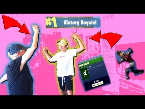 RE-CREATING FORTNITE DANCES IN REAL LIFE WITH MY GREAT GRANDMA! SO FUNNY (MUST WATCH)
