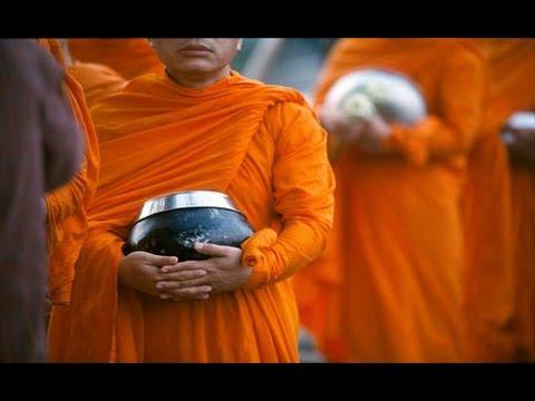 unique buddhist ritual in Thailand