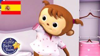 Aprendiendo a Vestirme | Little Baby Bum en Español | Canciones Infantiles | Dibujos Animados