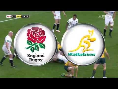 England vs Australia 2016 Autumn Series