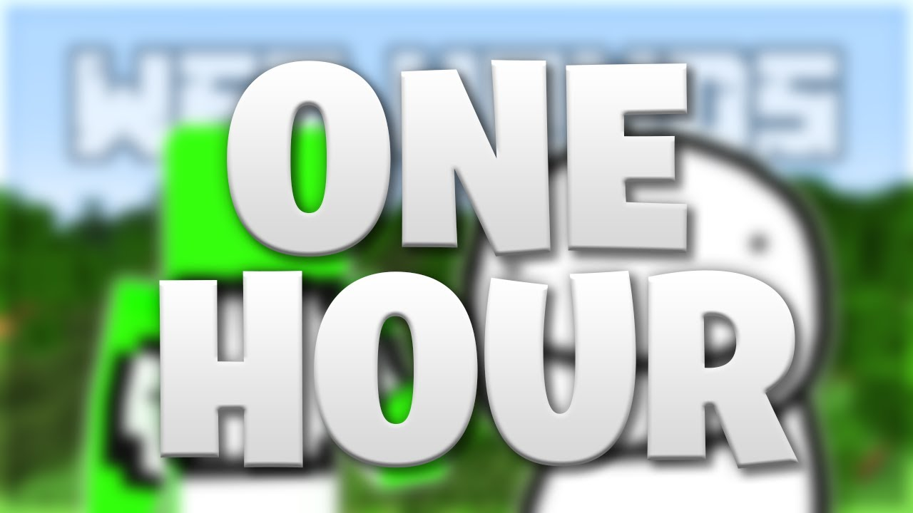 Minecraft Wet Hands but with Dream Noises (One Hour) - 