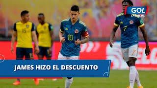 Gol de James Rodríguez en Ecuador vs Colombia - Eliminatorias Sudamericanas