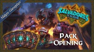 PACK OPENING HEARTHSTONE - SALVADORES DE ULDUM [SAVIORS OF ULDUM]