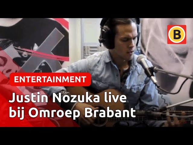 Justin Nozuka - Heartless (LIVE) | Omroep Brabant