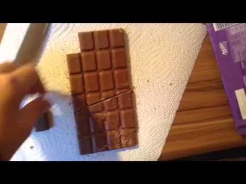 Tafel Schokolade Trick
