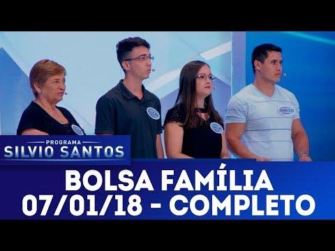 Bolsa Família - Completo | Programa Silvio Santos (07/01/18)