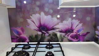 Кухонный фартук из стекла. Скинали. Цветы диморфотеки. TM Pavlin Art г.Днепр.(, 2017-01-15T14:27:13.000Z)