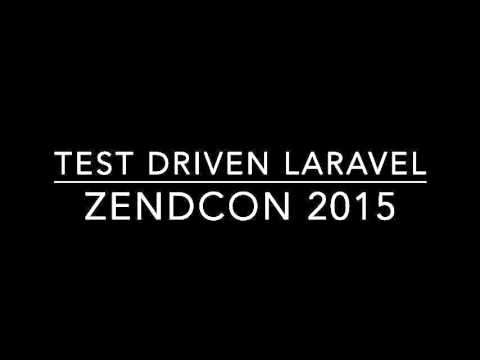Test Driven Laravel