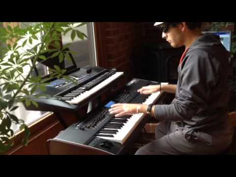 Cops, Bad Boys, theme song cover by David Whyne on piano - keyboard
