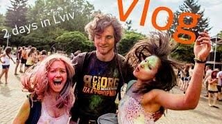 Vlog: Львов. Фестиваль красок Холи. Отличный хостел.(, 2015-04-17T12:16:36.000Z)