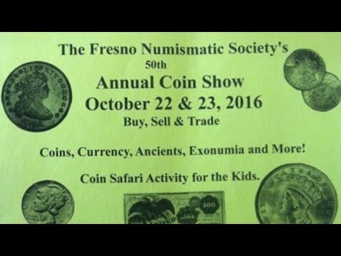 Ardin & Phillip talk about The Fresno Numismatic Society's 50th Annual Coin Show