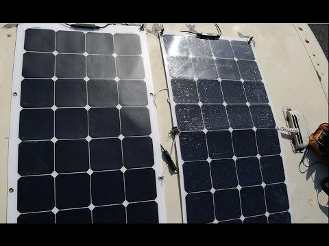 Flex-Solar Panel Review/Comparison/wattage Test ALLPOWERS 100W Vs. Suaoki 100W