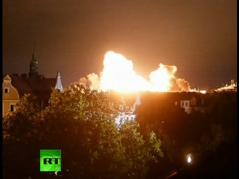 Video: Huge blast as WW2 bomb detonated in Germany