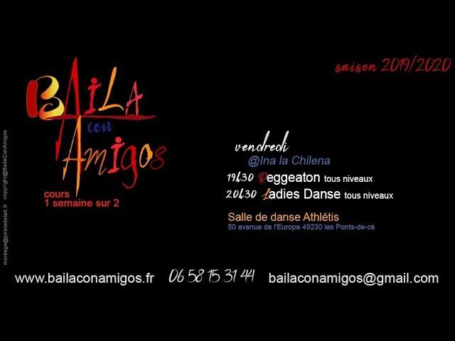 Baila con Amigos - cours de Reggeaton & Ladies danse