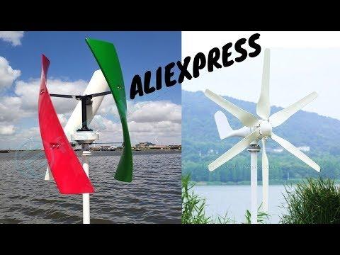 7 Ветрогенератор с Алиэкспресс AliExpress Wind Generator Полезные гаджеты для дома Ветрогенераторы
