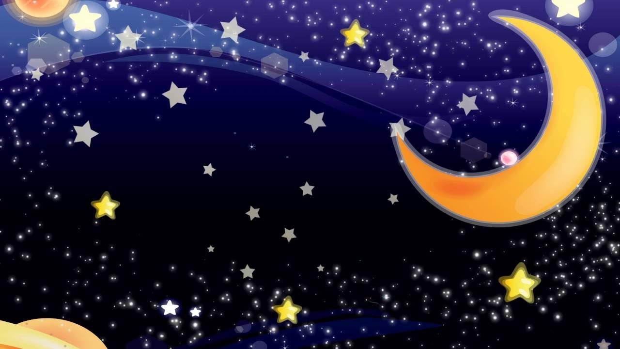 картинка ночь и звезды детям