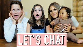 Let's Chat - Hair, Heads Up, & Concentration! ft. Annie LeBlanc & Paige Danielle | Hayley LeBlanc