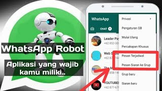 Download lagu Aplikasi Robot WhatsApp Gratis..!!  Download link di deskripsi